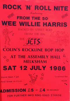 Wee Willie Harris/The Jets