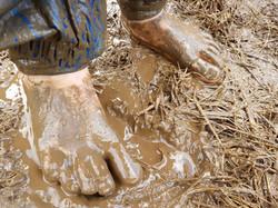 Mud Affordance outdoor nursery