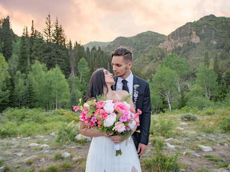 Big Cottonwood Canyon  Elopement