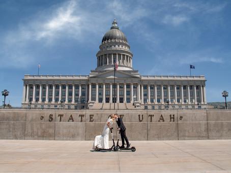 Utah State Capitol Elopement