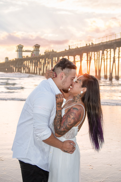 Oceanside Pier Couples Session