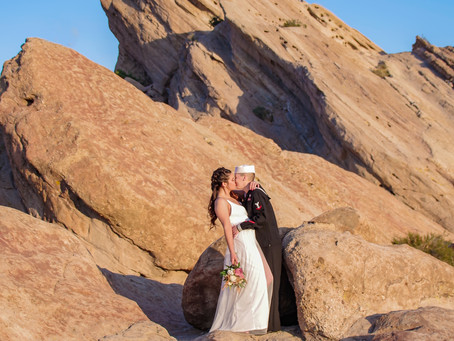 Vasquez Rocks Adventure Elopement