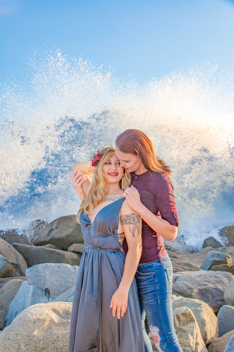 Del Mar Couples Session