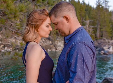 Lake Tahoe Couples Adventure Session
