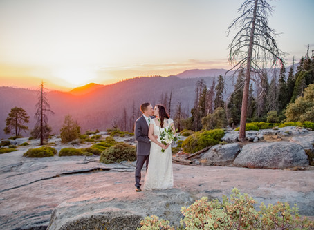 How to Elope in Sequoia National Park
