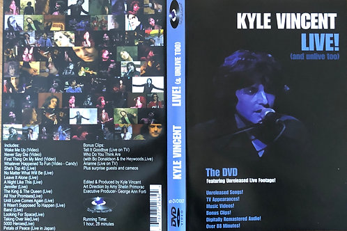 DVD - Live (and Unlive Too!)