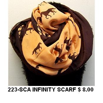 223-SCA INFINITY SCARF