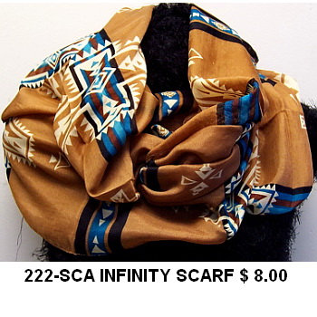 222-SCA INFINITY SCARF