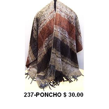 237-PONCHO