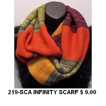 219-SCA INFINITY SCARF