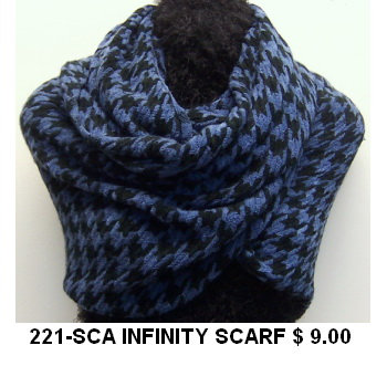 221-SCA INFINITY SCARF