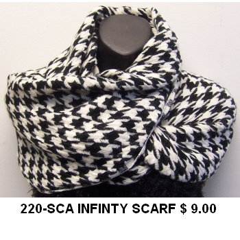220-SCA INFINTY SCARF