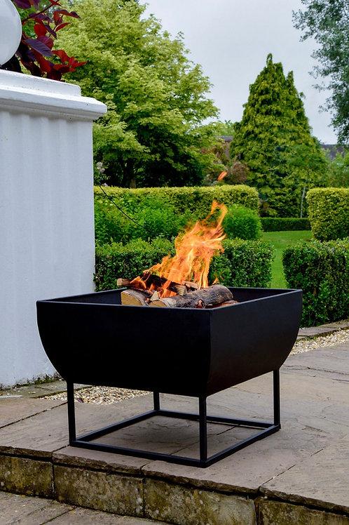 Outdoor Windermere Firebowl Black Iron W50Cm - In Stock