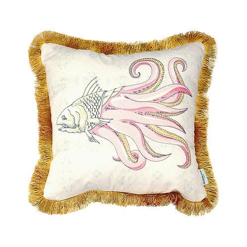 GuanAnAn - London - He Luo Cushion - in Cream