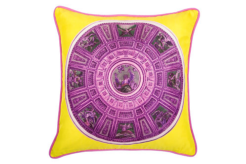 Bivain Capella Chigi Rosa Silk Cushion