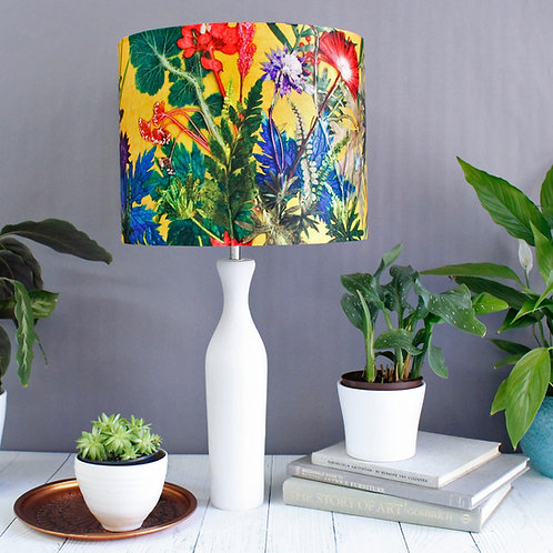 Gillian Arnold - Summer Tropics | Yellow & Green Light Shade For The Living Room