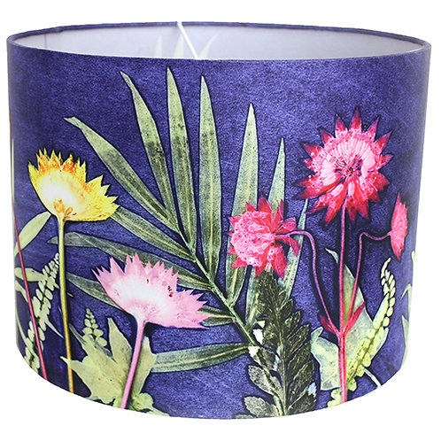 Gillian Arnold - Blue Jungle | Green & Blue Lamp Shade For The Home