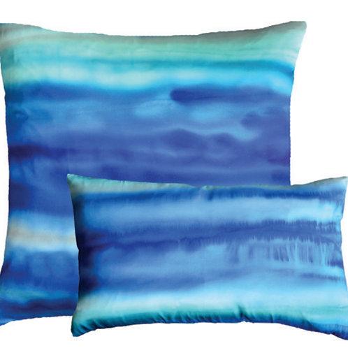 Aviva Stanoff Gravity in Azure Cushion