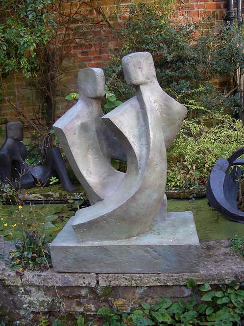 John Brown Duo II Garden Sculpture