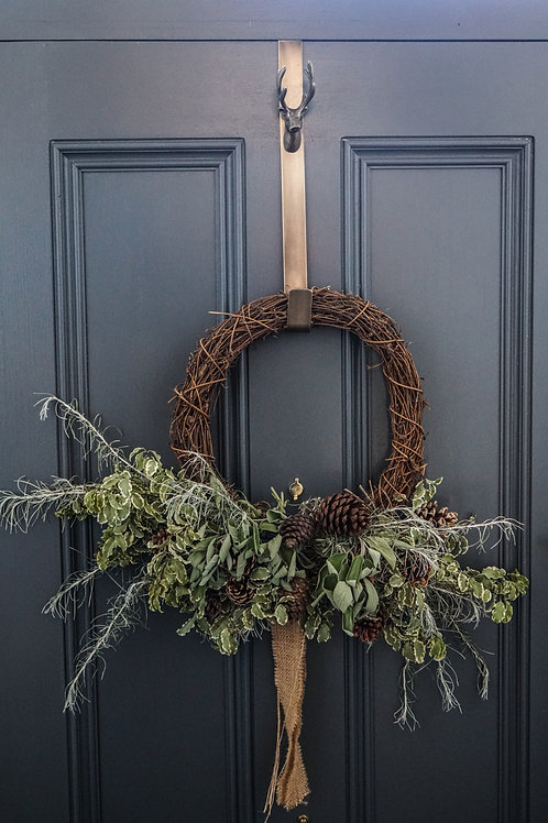 Christmas Wreath Door Hanger