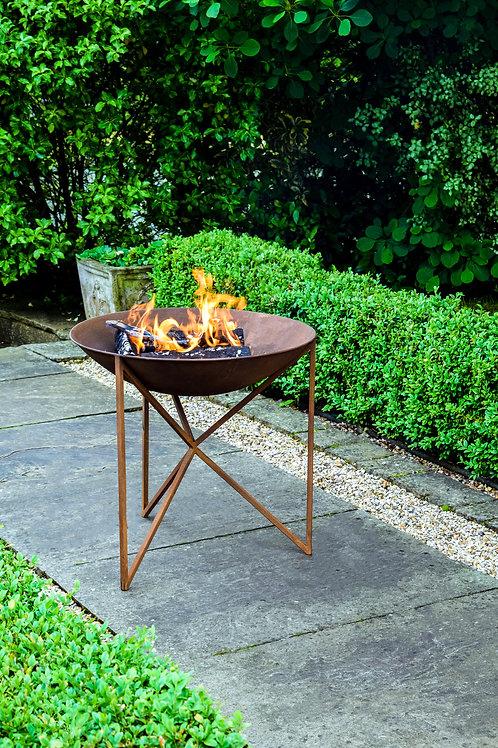 Outdoor Eden Firebowl Rust W58Cm