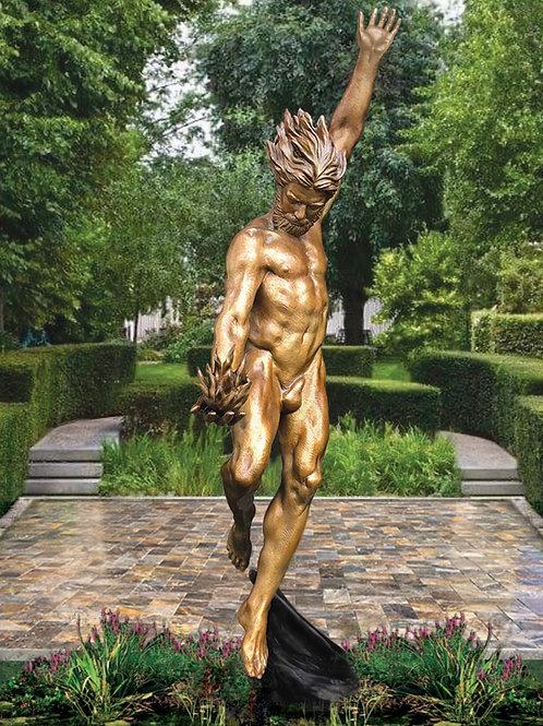 Danielle Anjou Sculpture - Prometheus