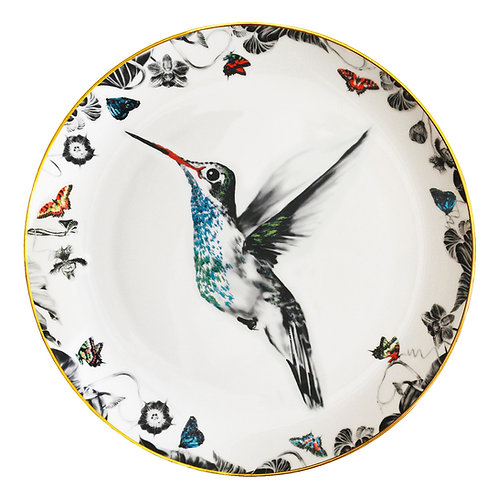 Susannah Weiland Collections - Hector Hummingbird Bone China Plate
