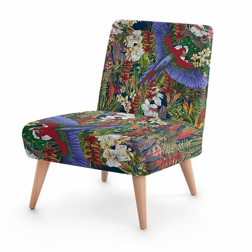 Elaine Collins Design 'Tropical Paradise' Sustainable Occasional Chair