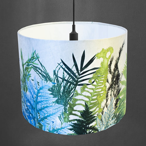 Gillian Arnold - Forage | Green & White Lamp Shade For The Home