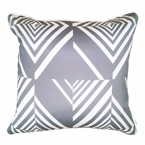 Katie Victoria Brown - Geometric Diamond Stripes