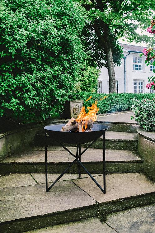 Outdoor Eden Firebowl Black Iron W58Cm