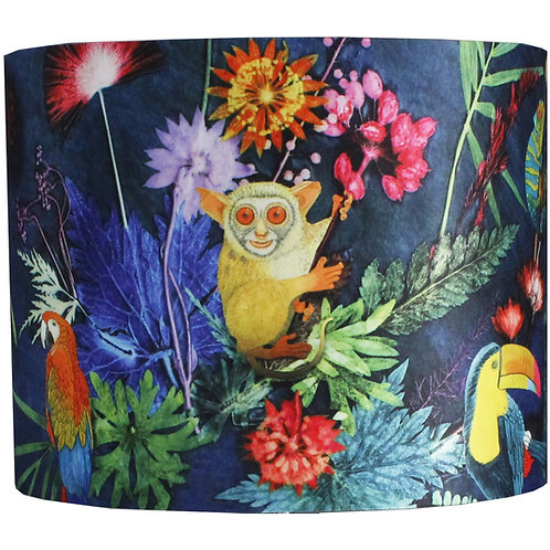 Gillian Arnold - Jungle Surprise - Tropical Animals Light Shade