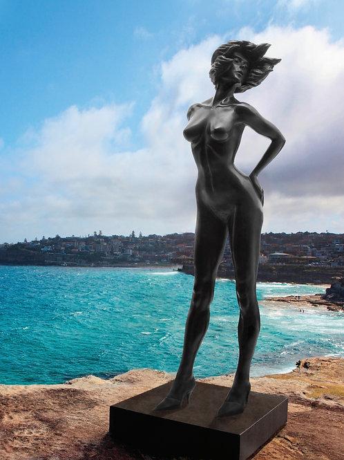Danielle Anjou Sculpture - Mules