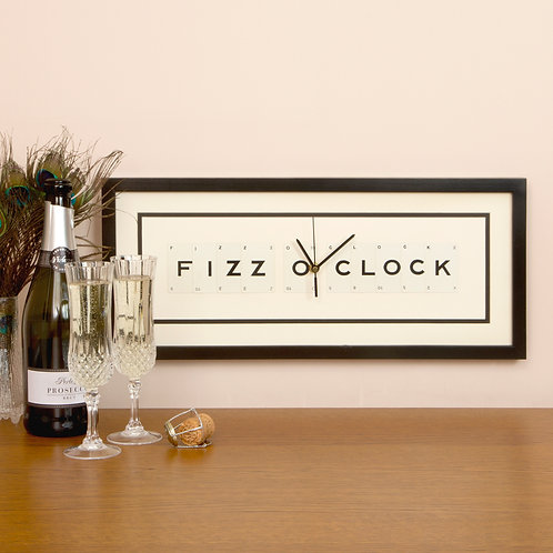 Vintage Playing Cards Clock - Fizz O'Clock