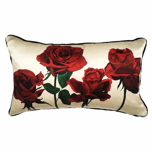 Katie Victoria Brown - Roses romantiques dans blanc de crème