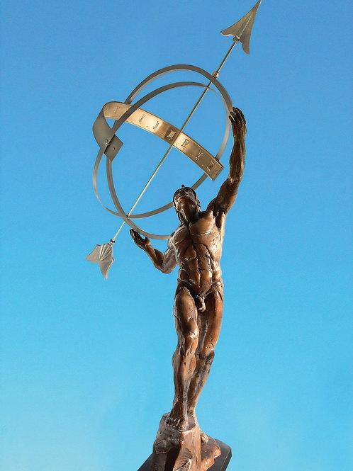 Danielle Anjou Garden Sculpture - Aeon