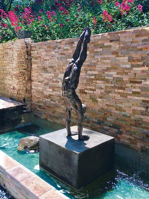 Danielle Anjou Sculpture - Gymnast