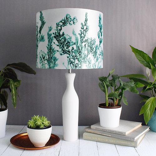 Gillian Arnold - Green Landscape | White & Green Light Shade For The Home