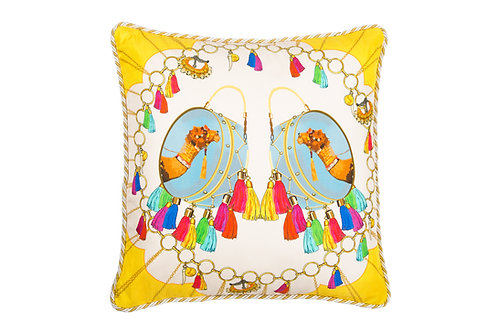 Bivain Jaipur Silk Cushion