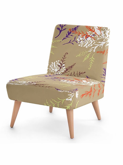 Elaine Collins Design 'Autumn Fern' Sustainable Occasional Chair