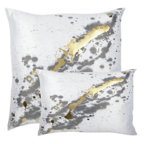 Aviva Stanoff Mod Art in Constellation Créme in Gold Cushion