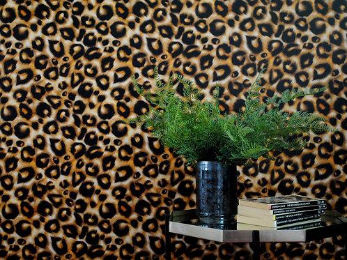 Charlotte Jade Leopard Print Wallpaper