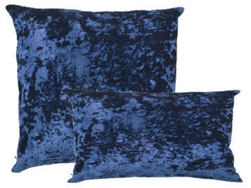 Aviva Stanoff Textile Library Crushed Velvet in Royal