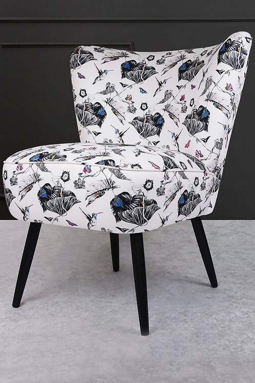 Susannah Weiland Collections  - Hummingbirds Cocktail Chair