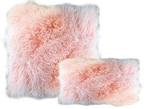 Aviva Stanoff Luxe Fur Mongolian Double Dipped Pink
