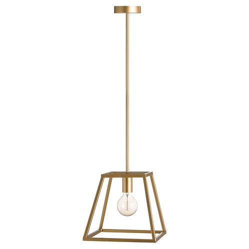 Brass Piped Pendant Light