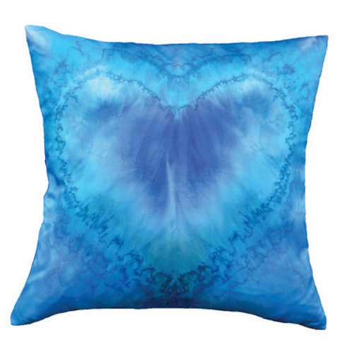 Aviva Stanoff One Love in Azure Cushion