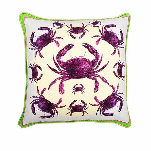 Bivain Crab Luxury Silk Cushion