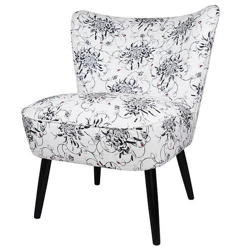 Susannah Weiland Collections  - Entangled Chrysanthemums Cocktail Chair