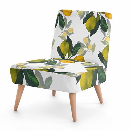 Elaine Collins Designs 'Lemon Grove' Sustainable Occasional Chair